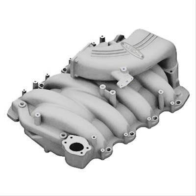 Intake & Components - Intake Manifolds - Trick Flow Specialties - Trick Flow TFS-51800002 Track Heat 75mm Intake Manifold - Silver