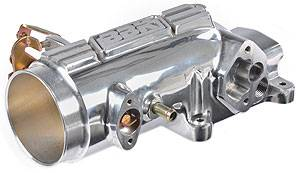 Intake & Components - Throttle Bodies & Plenums - BBK - BBK 17800 Polished 78mm Throttle Body / Elbow