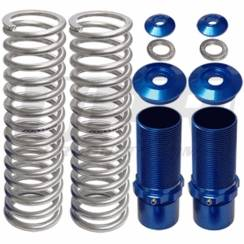 Suspension Parts & Components - Coil Over Kits, Springs, & Accessories - UPR - UPR 2006-NS-BLUE 1979-2004 Ford Mustang Pro Series Front Coil Over Kit (No Springs) Blue