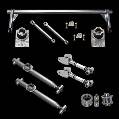 Suspension Parts & Components - Mustang Rear Suspension Kits - UPR - UPR 1999-K 1979-1998 Ford Mustang Pro Series Chrome Moly Rear Suspension Kit