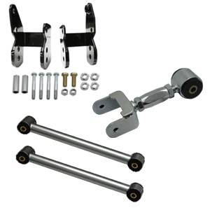 Suspension Parts & Components - Mustang Rear Suspension Kits - UPR - UPR 1999-05-02 2005-2010 Ford Mustang GT / GT500 Pro Street Rear Suspension Package