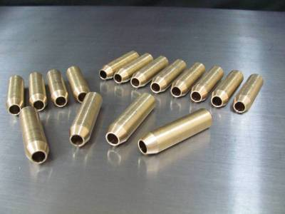 Valve Train / Timing Components - Valve Guides - Modular Head Shop - 2V PI Tapered Bronze Valve Guides