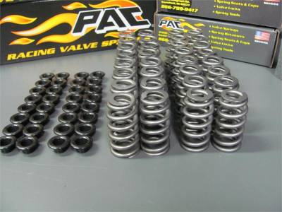"Valve Train / Timing Components - Valve Springs and Retainers - Modular Head Shop - MHS .500"" Lift PAC RPM Series Stage 3 4V Valve Springs"