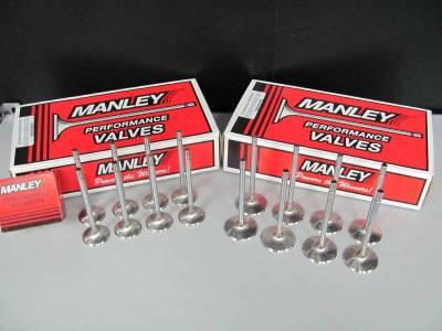 Manley - Manley Race Master Stainless Steel Intake Valves - 4.6L / 5.4L 2V PI - 44.5mm - Bead Loc® Groove - Image 2