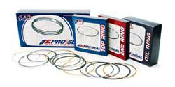 "Piston Rings - JE Pro Seal Piston Rings  - JE Pistons  - JE Pro Seal Steel Top Piston Ring Set - Ford 5.0L Coyote 3.660"" Bore"