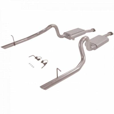 1996 - 1998 GT / Cobra Exhaust  - 1996 - 1998 Mustang GT / Cobra Cat Back Exhaust  - Flowmaster  - Flowmaster 17212 1994 - 1997 Mustang GT / Cobra Force II Cat-Back System