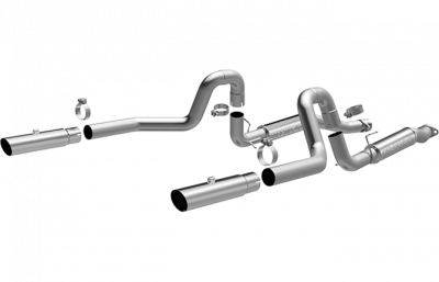 "Pypes - Magnaflow 16394 1999 - 2004 Mustang GT / Mach 1 Competition 3"" Cat-Back System"