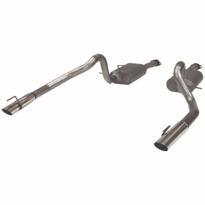 Exhaust - Flowmaster  - Flowmaster 817312 1999 - 2004 Mustang GT / Mach 1 American Thunder Cat-Back System
