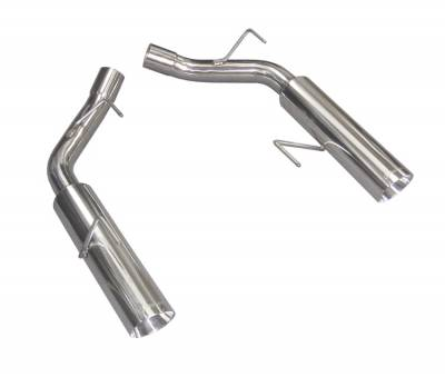 2005 - 2010 Mustang GT Exhaust  - 2005 - 2010 Mustang GT Axle Back Exhaust  - Pypes - Pypes SFM60MS 2005 - 2010 Mustang GT / Shelby GT500 Pype Bomb Axle-Back Exhaust