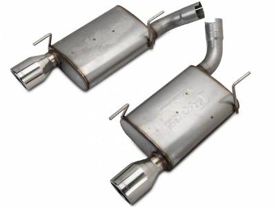 2005 - 2010 Mustang GT Exhaust  - 2005 - 2010 Mustang GT Axle Back Exhaust  - Pypes - Pypes SFM60V 2005 - 2010 Mustang GT / Shelby GT500 Violator Axle-Back Exhaust