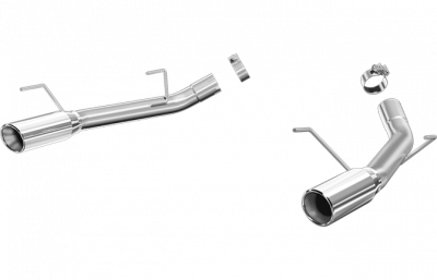2005 - 2010 Mustang GT Exhaust  - 2005 - 2010 Mustang GT Axle Back Exhaust  - Pypes - Magnaflow 16843 2005 - 2009 Mustang GT / Shelby GT500 Race Series Axle-Back Exhaust
