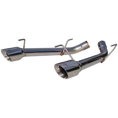 2005 - 2010 Mustang GT Exhaust  - 2005 - 2010 Mustang GT Axle Back Exhaust  - MBRP - MBRP S7202304 2005 - 2010 Mustang GT Muffler Delete Stainless Steel Axle-Back Exhaust