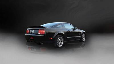 Corsa - Corsa Performance 14311 2005 - 2010 Mustang GT / GT500 Sport Axle-Back Exhaust - Image 3