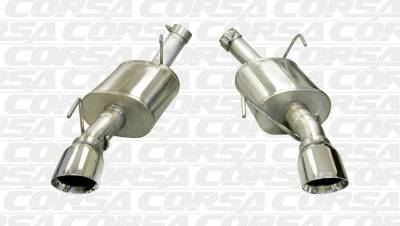 Corsa - Corsa Performance 14314 2005 - 2010 Mustang GT / GT500 Xtreme Axle-Back Exhaust - Image 2
