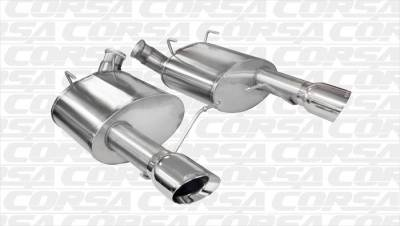 Corsa - Corsa Performance 14316 2011 - 2014 Mustang GT Sport Axle-Back Exhaust - Image 2