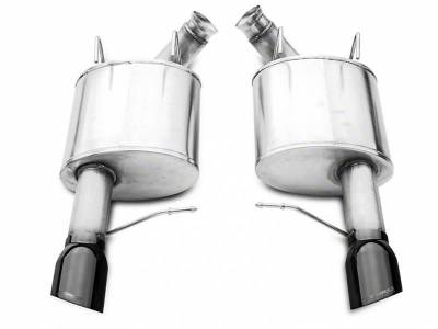 Corsa - Corsa Performance 14316BLK 2011 - 2014 Mustang GT Sport Axle-Back Exhaust with Black Tips - Image 2