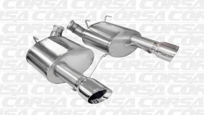 Corsa - Corsa Performance 14317 2011 - 2014 Mustang GT Xtreme Axle-Back Exhaust - Image 2