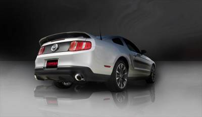 Corsa - Corsa Performance 14317 2011 - 2014 Mustang GT Xtreme Axle-Back Exhaust - Image 4
