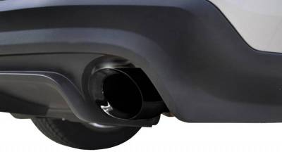 Corsa - Corsa Performance 14317BLK 2011 - 2014 Mustang GT Xtreme Axle-Back Exhaust with Black Tips - Image 4