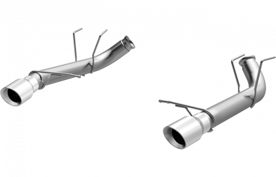 2007 - 2014 Shelby GT500 Exhaust  - 2007 - 2014 Shelby GT500 Axle Back Exhaust  - Magnaflow - Magnaflow 15594 2011 - 2012 Mustang GT / Shelby GT500 Race Series Axle-Back Exhaust