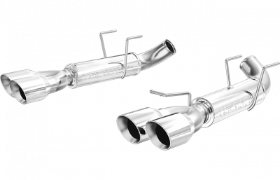 Magnaflow - Magnaflow 15077 2011 - 2012 Mustang GT Competition Series Axle-Back Exhaust - Quad Tip