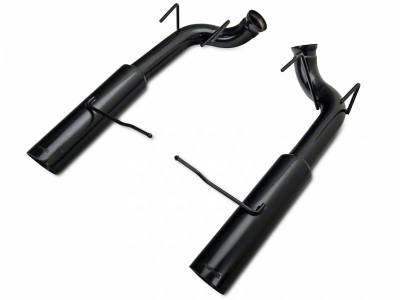 2011+ Mustang GT 5.0L Exhaust  - 2011 - 2014 Mustang GT Axle Back Exhaust  - Pypes - Pypes SFM76MSB 2011 - 2014 Mustang GT Phantom Series Pype Bomb Axle-Back Exhaust