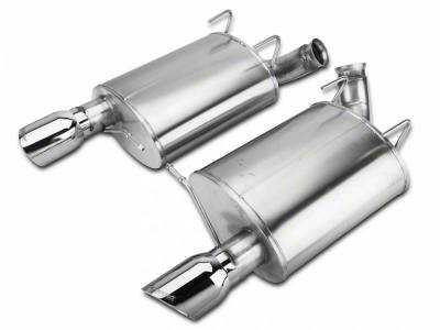 Corsa - Corsa Performance 14320 2011 - 2012 Shelby GT500 Sport Axle-Back Exhaust - Polished  - Image 1