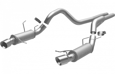 Magnaflow - Magnaflow 15150 2013 - 2014 Mustang GT Competition Series Cat-Back Exhaust - Image 1