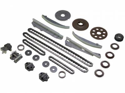 Timing Chains, Sprockets, Guides and Tensioners