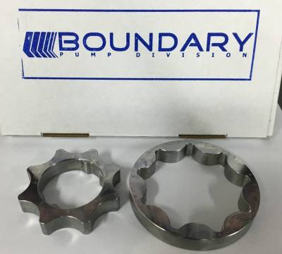 "Boundary Pump Division Billet Oil Pump Gear - 5.0L Coyote - .510"" Wide - Image 3"