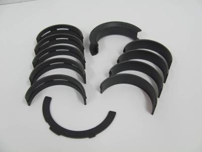 """Calico Coated Clevite 5.0L Coyote H-Series Main Bearings - .001"""" Extra Clearance"""