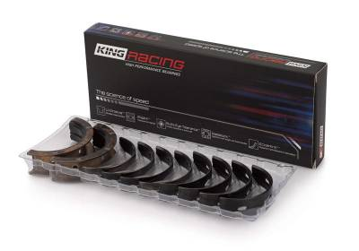 "King Bearings  - King XP Race Series 4.6L / 5.4L Windsor Iron Block Main Bearing Set - .001"" Tighter Clearance"