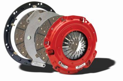 Clutch Kits - Twin Disk Clutch Kits  - McLeod Racing - McLeod 6912-07 RST Twin Disc Clutch Kit -  2001 - 2010 Mustang GT, 1999 - 2004 Cobra, Mach1 - 26 Spline