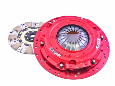 Clutch Kits - Twin Disk Clutch Kits  - McLeod Racing - McLeod 6932-03 RXT Twin Disc Clutch Kit - 2001 - 2010 Ford Mustang GT, 1999 - 2004 Cobra, Mach 1 - 10 Spline