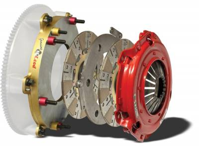 Clutch Kits - Twin Disk Clutch Kits  - McLeod Racing - McLeod 6975-07M RXT Twin Disc Clutch Kit - 2010 - 2014 Shelby GT500 - 26 Spline