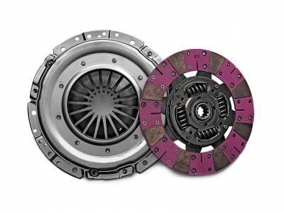 """Clutch Kits - 2001 - 2004 11"""" Clutch Kits  - Exedy  - Exedy 07953 - Mach 600 Stage 4 Clutch Kit - 2001 - 2004 Mustang GT, 1999 - 2004 Cobra, Mach 1 - 26 Spline"""