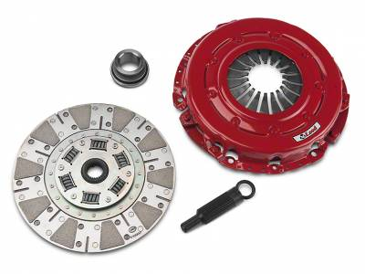 "Clutch Kits - 1996 - 2001 10.5"" Clutch Kits  - McLeod Racing - McLeod 75307 Street Extreme Clutch Kit - Ford Mustang 4.6L / 5.0L 10.5"" Flywheel - 26 Spline"