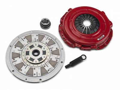 "2001 - 2004 11"" Clutch Kits  - 26 Spline  - McLeod Racing - McLeod 75303 Street Extreme Clutch Kit - Ford Mustang 4.6L 11"" Flywheel - 26 Spline"