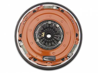 Clutch Kits - 2011+ Clutch Kits  - CenterForce  - Centerforce DYAD DS Twin Disc Clutch Kit w/ Flywheel - 2011+ Mustang GT 5.0L - 23 Spline