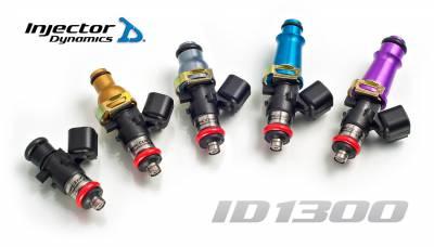 Fuel System - Fuel Injectors - Injector Dynamics - Injector Dynamics ID1300 1300cc Injectors - 48mm Length