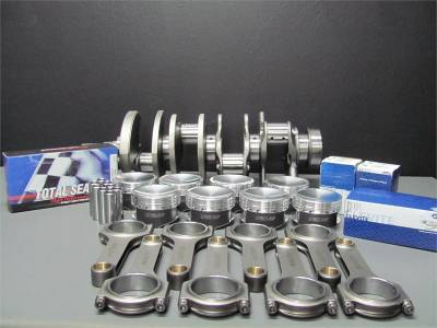 Modular Head Shop - Modular Head Shop 1000 HP 4.6L 3V Rotating Assembly - Eagle Forged Crankshaft, Manley 4340 H-Beam Rods and Manley 3V Specific Pistons - Image 3