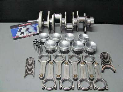 Engine Parts - Rotating Assemblies - Excessive Motorsports  - Excessive Motorsports 1000 HP 4.6L 3V Rotating Assembly - Eagle Forged Crankshaft, Manley 4340 H-Beam Rods and Manley 3V Specific Pistons