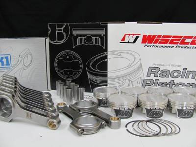 Modular Head Shop - 4.6L Wiseco Pistons / K1 H-Beam Connecting Rod Combo - Image 2