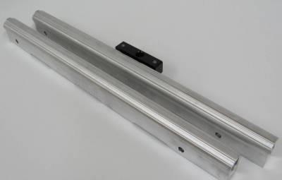 Fuel System - Fuel Rails - Modular Head Shop - MHS Modified Fuel Rails for Edelbrock Victor Jr Intake Manifold with FRPS Mount