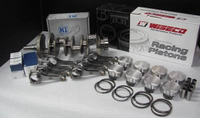 Modular Head Shop - Modular Head Shop 1000 HP 4.6L Rotating Assembly - Eagle Forged 8 Bolt Crankshaft, K1 Forged 4340 H-Beam Rods and Wiseco Pistons - Image 2