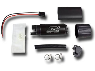 Fuel Pumps - In-Tank Fuel Pumps  - AEM  - AEM 50-1000 320LPH High Flow In-Tank Fuel Pump - Offset Inlet