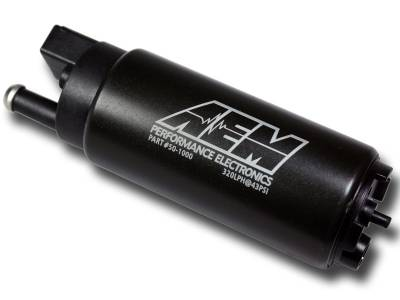AEM  - AEM 50-1000 320LPH High Flow In-Tank Fuel Pump - Offset Inlet - Image 2