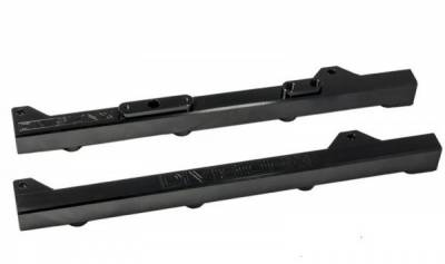 Fuel System - Fuel Rails - DivisionX - DivisionX 99-04 2V GT High Flow Fuel Rails - Black Anodized