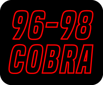 Intake & Components - Cold Air Kits - 96-98 Cobra Cold Air Intakes