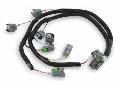 Holley EFI Accessories  - Wiring Harnesses - Holley - Holley 558-212 - Ford V8 Injector Harness for USCAR Style Injectors